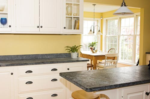 Granite Kitchen Countertops black