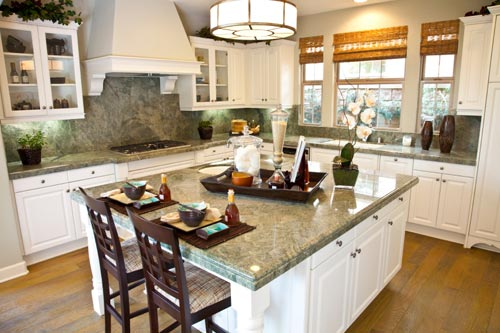 Granite Kitchen Countertop Green