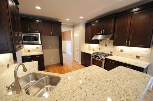 Granite Kitchen Countertop White